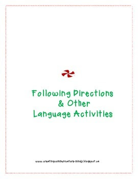 Following Directions & Teaching Concepts
