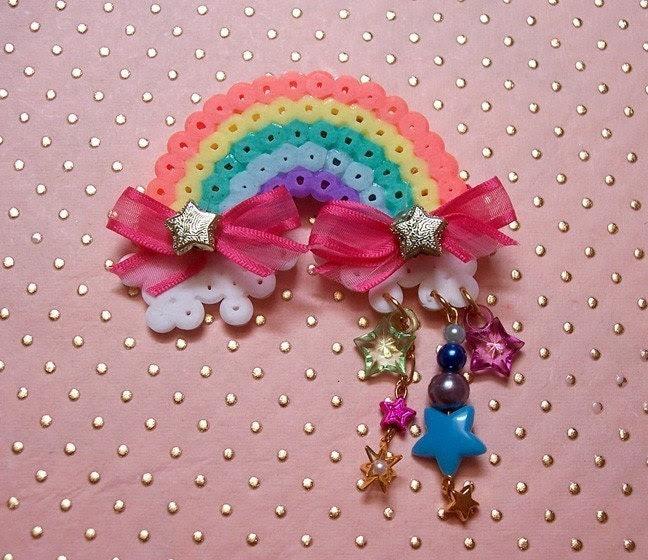 over the rainbow mini brooch   over the rainbow mini brooch