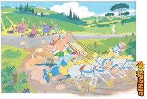 Asterix et la Transitalique esce in francese il 16 novembre 2017, con edizioni speciali!