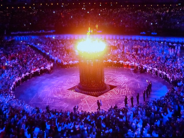 The London Olympics 2012 Cauldron