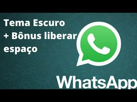 Whatsapp Tema Escuro Oficial | Dica Bônus Aprenda Como Liberar espaço e Economizar dados