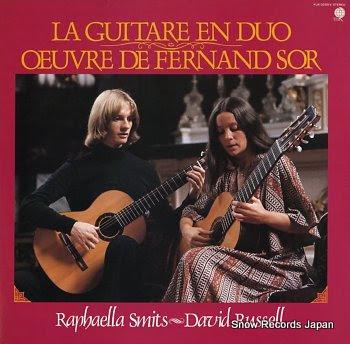 SMITS, RAPHAELLA & DAVID RUSSELL la guitare en duo / oeuvre de fernand sor