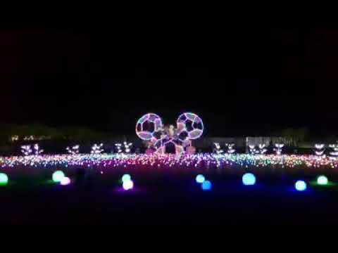A Tribute to Mickey's 90th Anniversary at Nuvali's Magical Field of Lights 2018