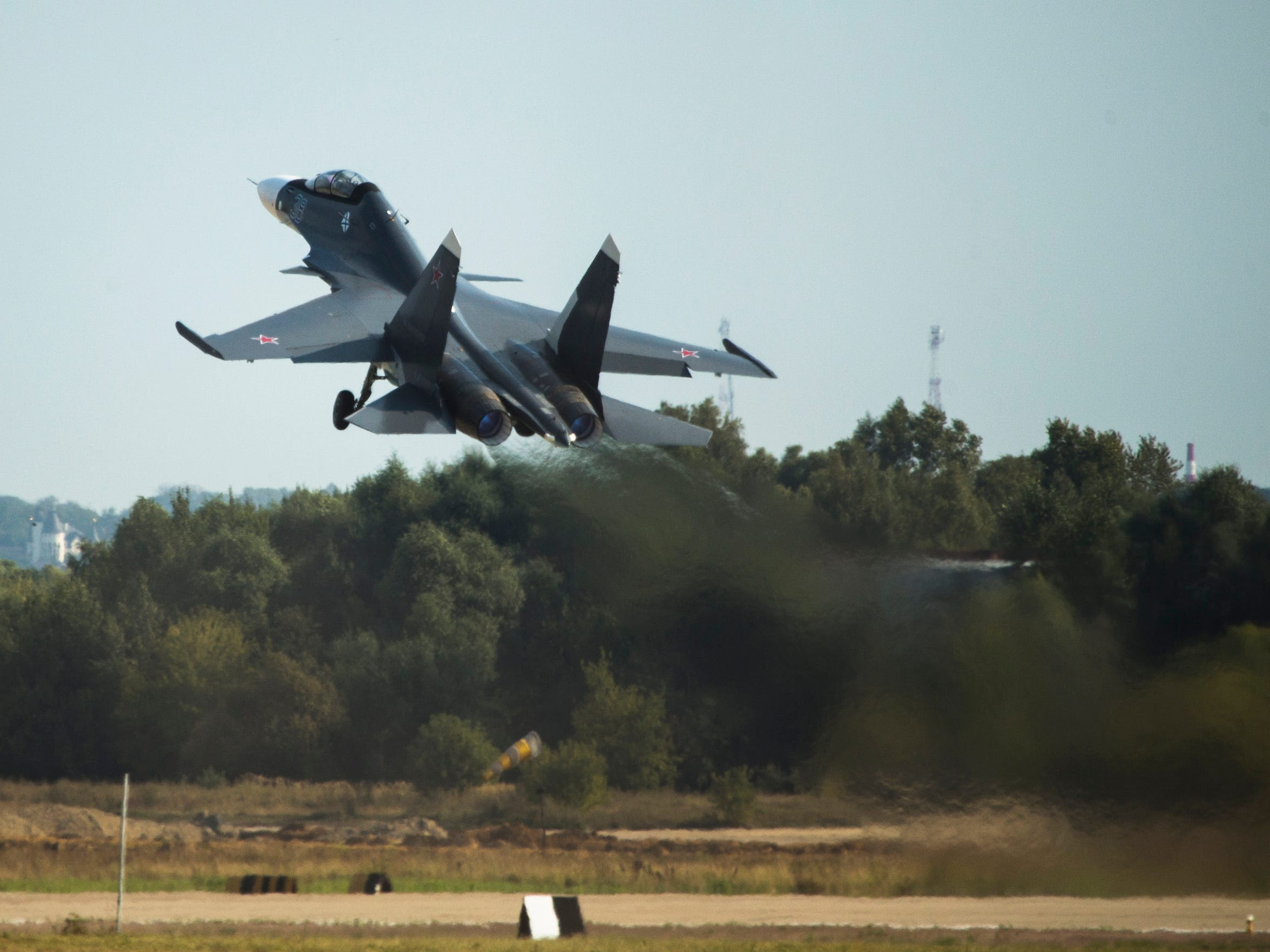Russia has deployed a number of Su-30 fighters to Syria,