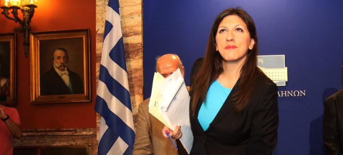 Η Κωνσταντοπούλου στέλνει στον εισαγγελέα υπαλλήλους της Βουλής -Ερευνα για το τι πήρε η ίδια φεύγοντας [έγγραφα]