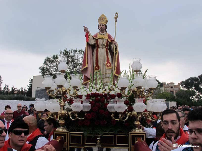 Resultado de imagen de Romería de San Blas de Santiago de la Ribera