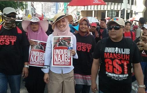 Populariti Najib menurun 23%, berundur segera - Nurul Izzah