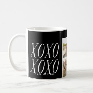 XOXO Love in Black | Mug