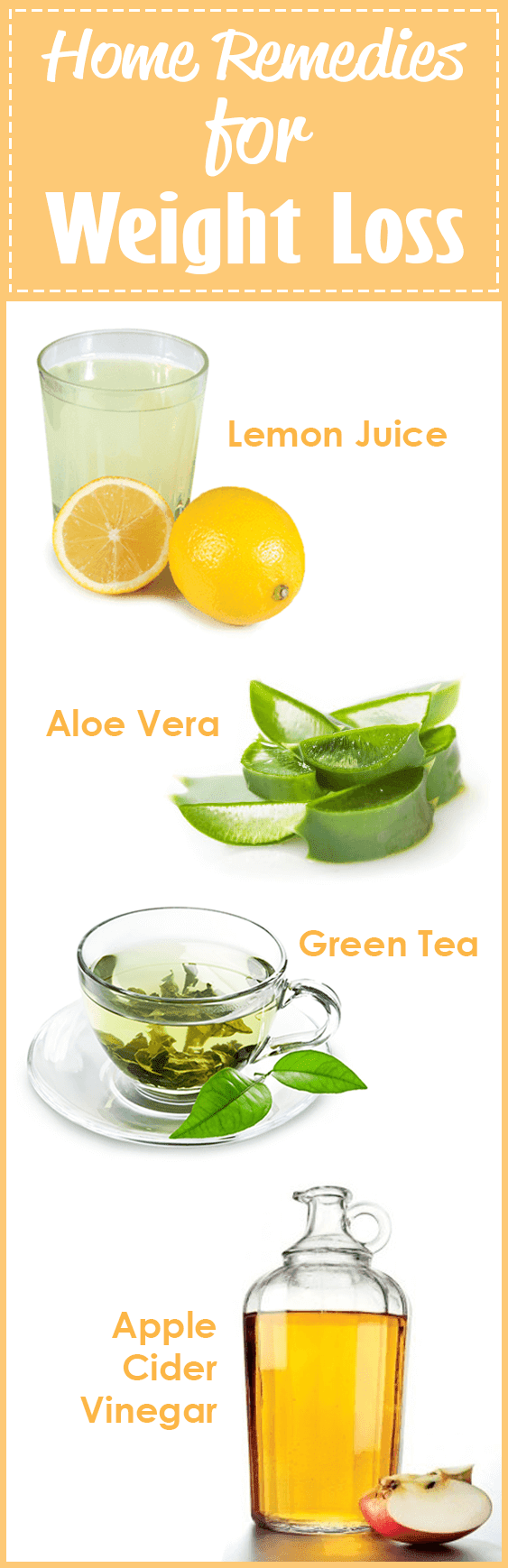 Home Remedies to Lose Weight Naturally •