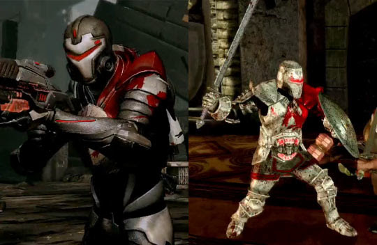 Dragon Age Blood Armor. In this photo: Blood Armor