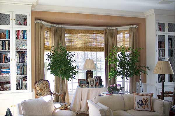 Basswood Roll Up Woven Wood Shades For Porch