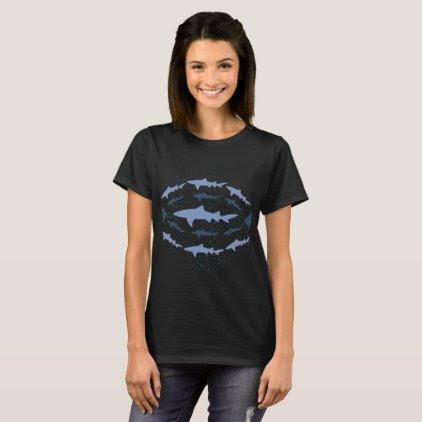 Lemon Shark Marine Biology Art T-Shirt