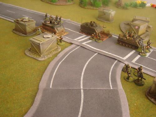 Convoy deploys security