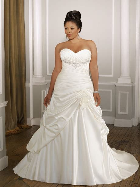 Wedding dresses for fat women