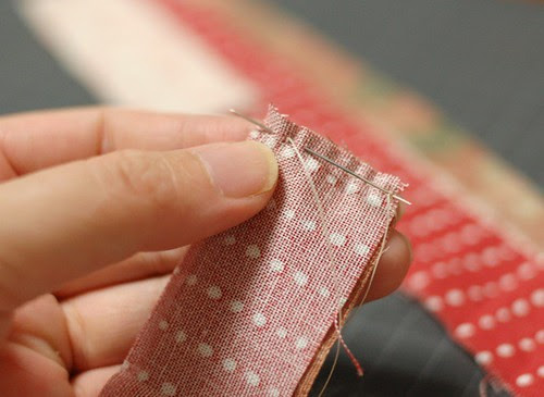 How to make a patchwork Lanyard 2