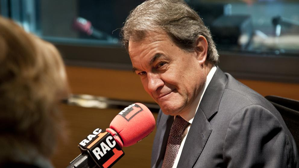 Artur Mas, en Rac1, vía streaming
