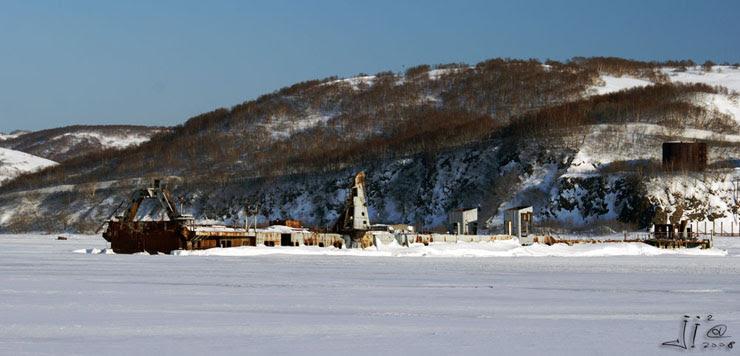 abandoned ships in  kamchatka, Russia 15