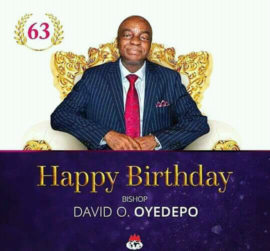 Image result for David Oyedepo Celebrates His 63rd Birthday Today