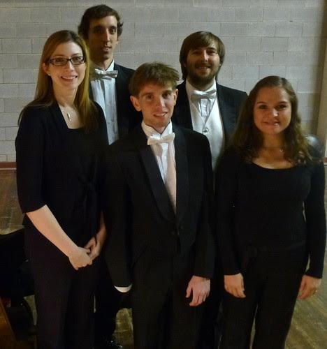 Shreveport Symphony Orchestra: Ann Shoemaker, Adam Black, Caleb Potts, Chris Lettie, Belinda Viesca. At Riverview Theater. by trudeau