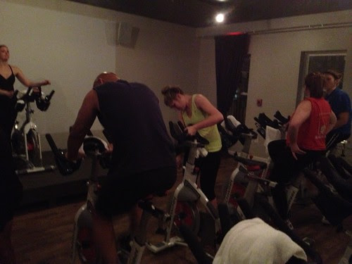 Off road DC spin class