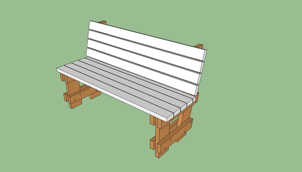 Looking For Built In Outdoor Bench Plans Lebouf