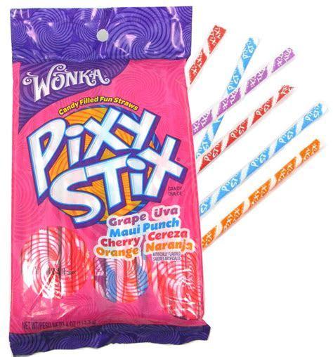 Wonka Pixy Stix 4oz Bag: BlairCandy.com