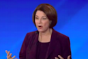 Amy Klobuchar has clearly been trawling Pete Buttigieg's old tweets