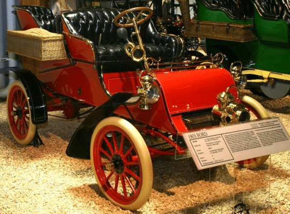 1901 Ford Model A Car - First Ford Car