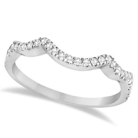 Diamond Infinity Halo Engagement Ring & Band Set 14K White