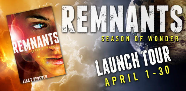 Remnants banner for BookNerd tour2