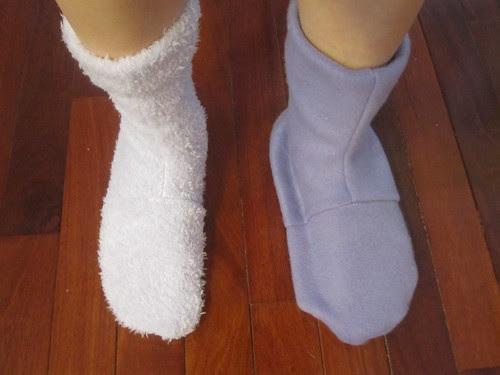 Original and Modified Socks, Top