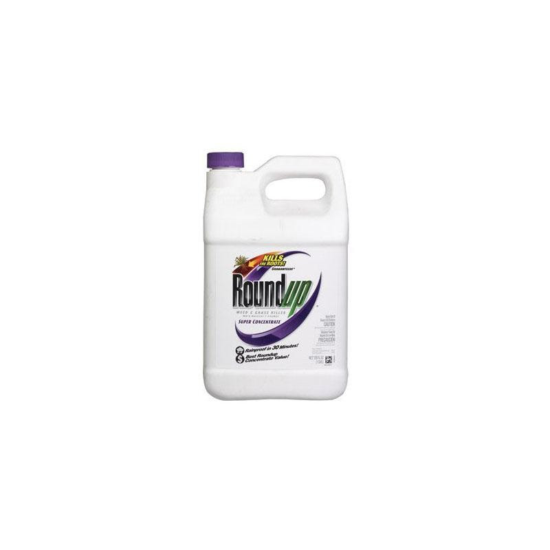 ROUNDUP WEED & GRASS KILLER super concentrate 1 Gallon