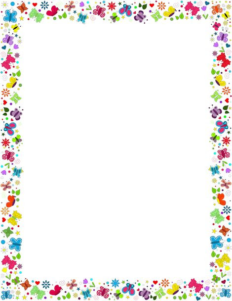 Free Beautiful Borders For Projects On Paper Download Free Clip Art