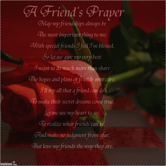 A Friends Prayer May My Friendship Always Be Quotespicturescom