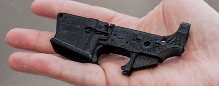 3D-printed guns may be possible. (CNET)