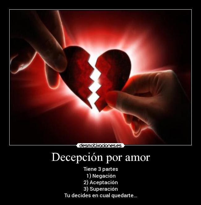 Decepcion Por Amor Desmotivaciones