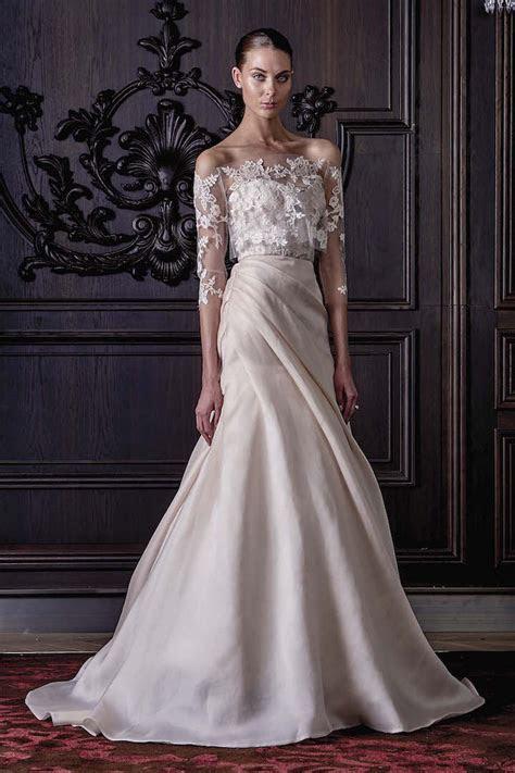 Monique Lhuillier Wedding Dresses Spring 2016   crazyforus