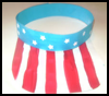 Independence<br />  Day Sun Visor  : Parade Crafts Activities for Children