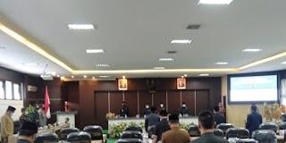 Paripurna DPRD Pamekasan Bahas Pemberhentian Wakil Bupati