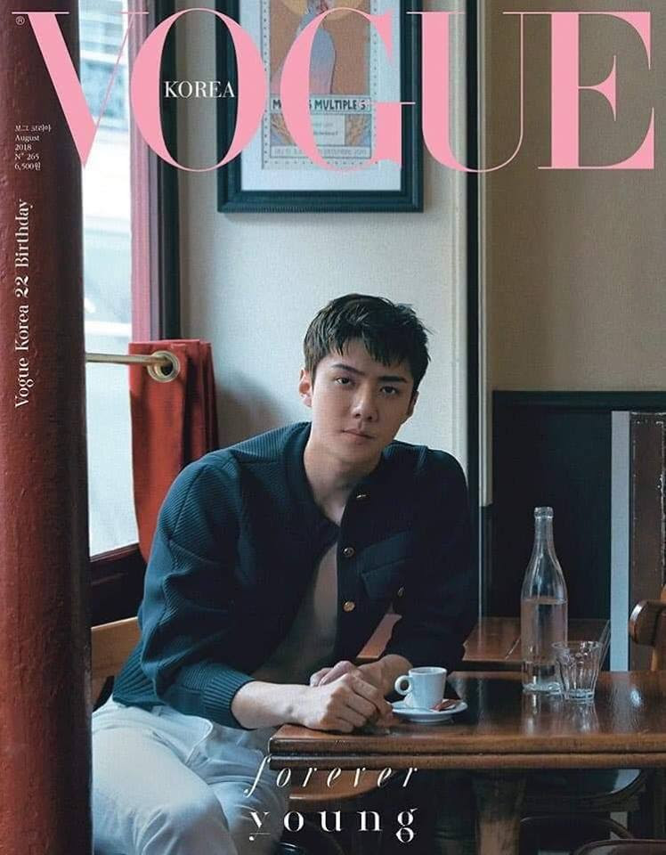 Exo Images Sehun For Vogue Korea 2018 Hd Wallpaper And Background