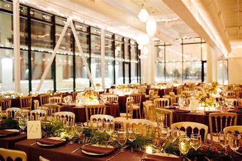 Winter Greenhouse Loft Wedding Photos with Gold Wedding Dress