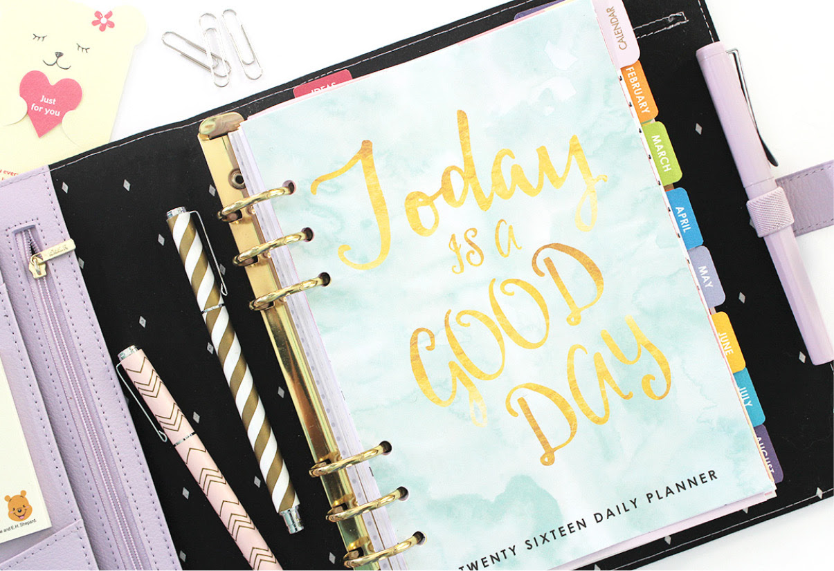 2016 Daily Planner Printable