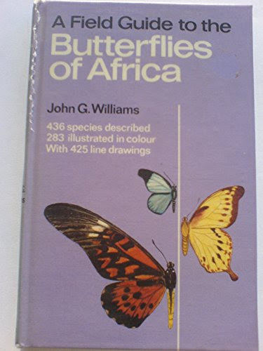 9780002110921 A Field Guide To The Butterflies Of Africa