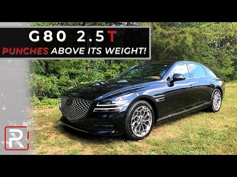 The 2021 Genesis G80 2.5T is a New Korean Luxury Sedan That Punches Above Its Weight