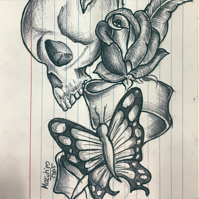 Butterfly Drawing Tattoo At Getdrawingscom Free For Personal Use