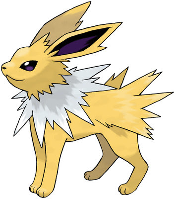 Jolteon artwork by Ken Sugimori