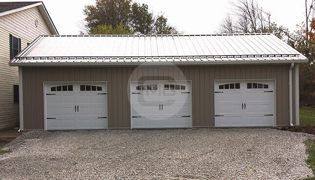 Side Entry Metal Buildings Side Entry Garages
