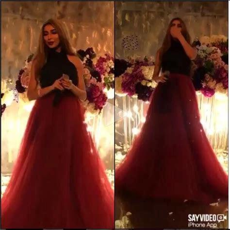 2017 Elegant Inspired by Nancy Ajram Celebirty Dress