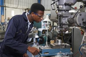 How does the skills gap affect manufacturing?