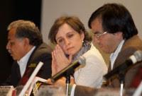 Carmen Aristegui. Foto: Eduardo Miranda
